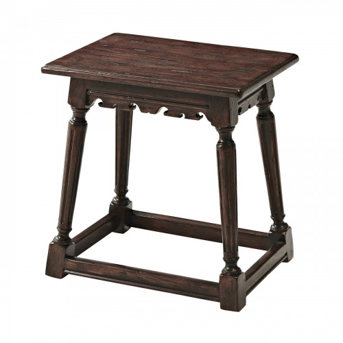 CB44001 Bromwich Old World Stool Theodore Alexander
