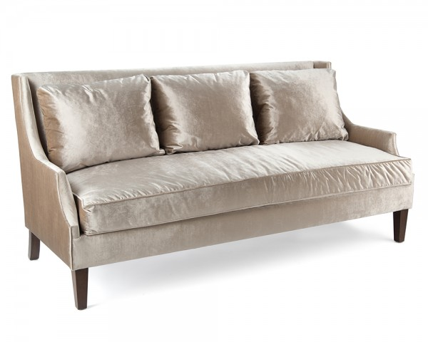 Scoop-Arm Sofa, John Richard Sofa