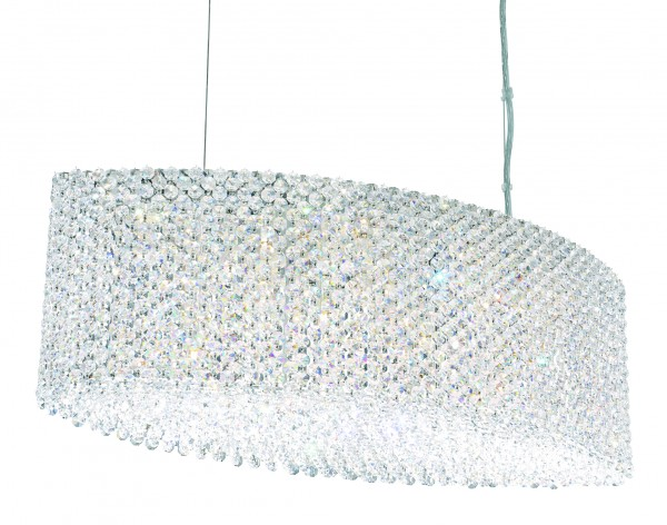 Schonbek Refrax Re2809 Modern Crystal Pendant Chandelier Brooklyn,New York - Accentuations