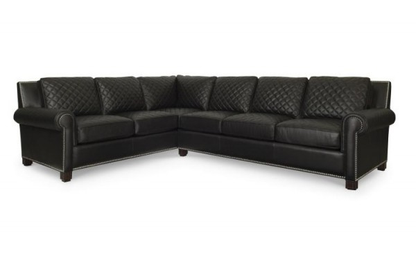 Century Furniture 2 Seater Leather Sofa for Sale Brooklyn, New York, Furniture by ABD