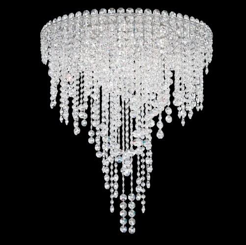 Schonbek close to ceiling crystal light fixtures Brooklyn,New York- Accentuations