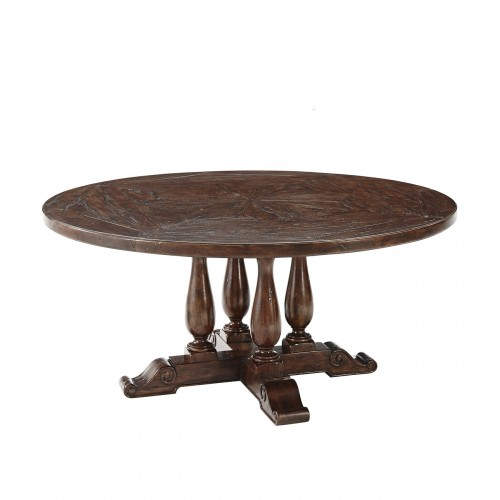 CB54007 Country Heirloom Bistro Table Theodore Alexander