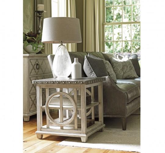Oyster Bay Lewiston Lexington Square Accent Lamp Table Brooklyn, New York