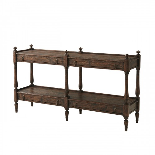Carter Console Table, Theodore Alexander Console Table