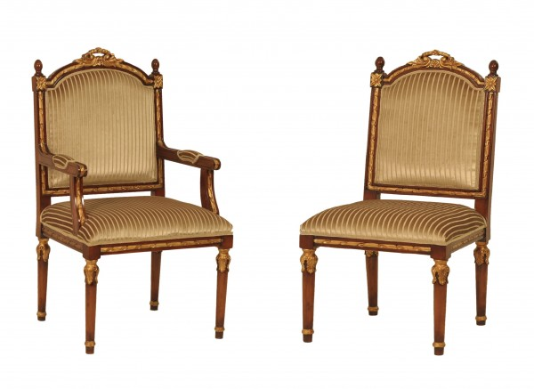 Ny 05 Leather Dining Chairs For Sale Brooklyn - Accentuations Brand
