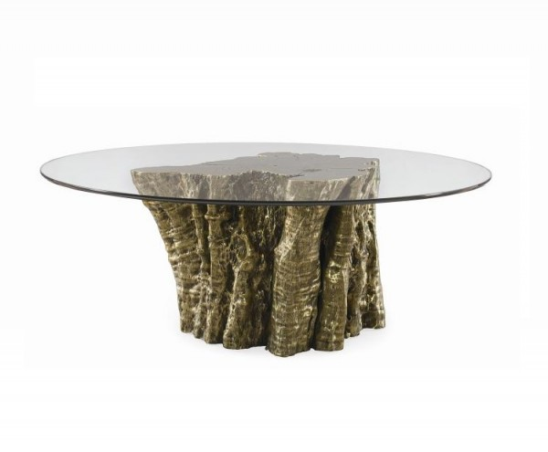 Century Furniture Console dining Table Base Bronze