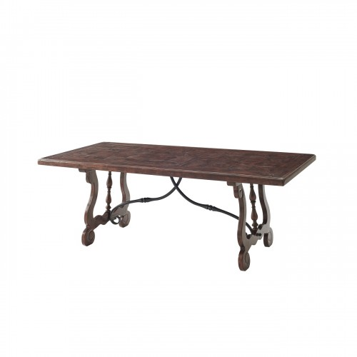 The Country Kitchen Table,Theodore Alexander Table, Brooklyn, New York, Furniture by ABD