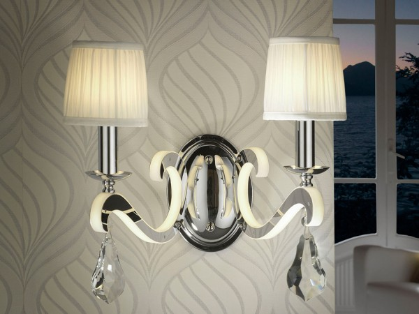 Schuller Creta Wall Lamp 2l Candle Sconces for Walls Brooklyn,New York- Accentuations Brand