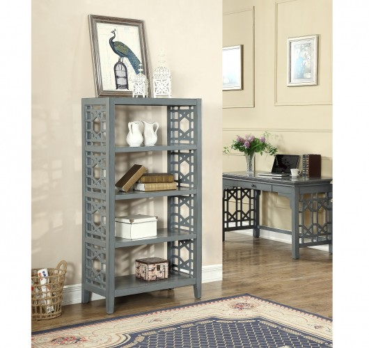 what better way to display your treasured cut crystal in this bookcase