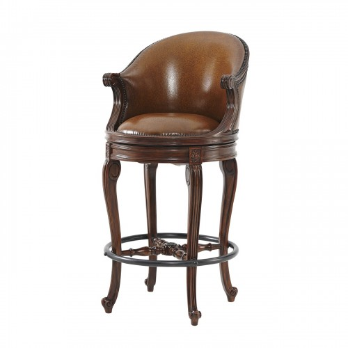 An Evening At Ease Bar Stool theodore alexander 4200 037