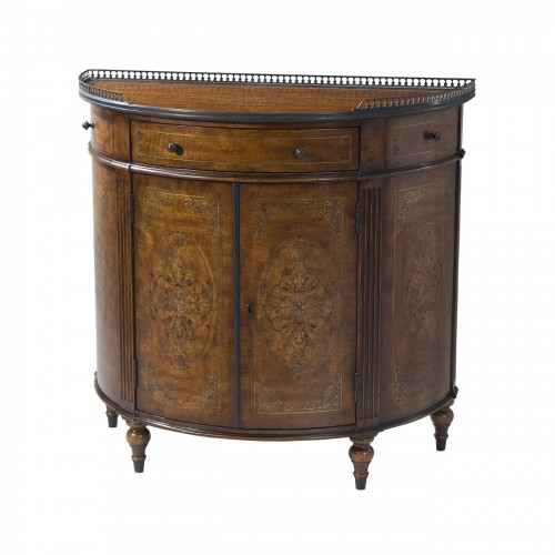 6105 111 Finely Traced Cabinet Theodore Alexander