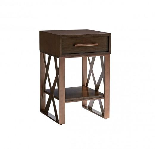 Zavala Cella Night Table, Modern Night Tables