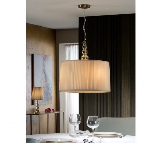 Schuller Mercury Pendant 3l Lights Brooklyn,New York by Accentuations Brand