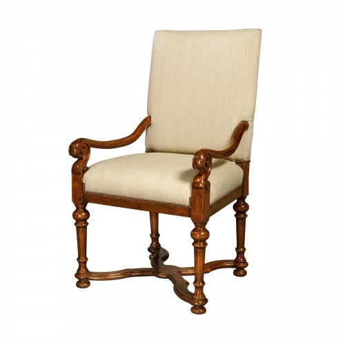 Cultivated Dining Armchair, Theodore Alexander Chairs Brooklyn, New York