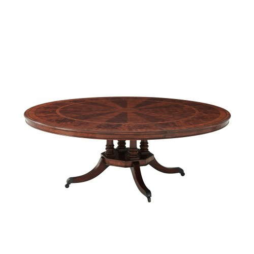 Regent'S Feast Dining Table, Theodore Alexander Dining Table, Brooklyn, New York, Furniture by ABD