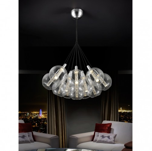 Schuller Eire Pendant 36w Lights Brooklyn,New York by Accentuations Brand