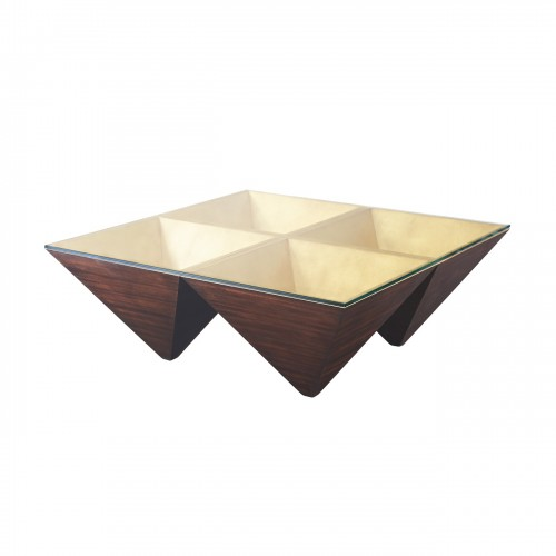 5102 066 Pyramidal Points Cocktail Table theodore alexander
