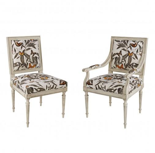 Louis Side Chair - Plain Back