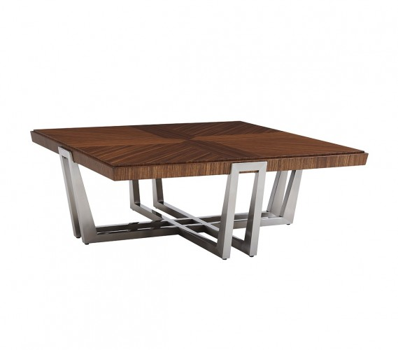 Kitano Gianni Square Cocktail Table, Cocktail Table For Sale