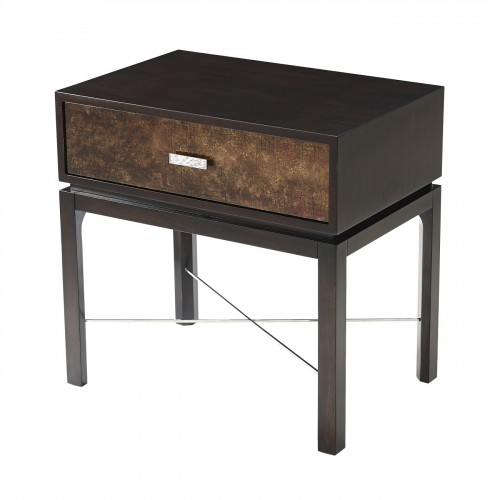 5005 754 Gold Leaf Accent Table theodore alexander