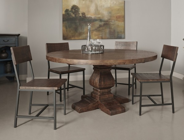 circle around our woodbridge solid acacia dining table