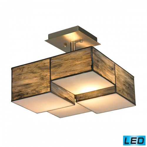 ELK Lighting, Flush Mounted Ceiling Light Fixtures, Accentuations Brand, Furniture by ABD