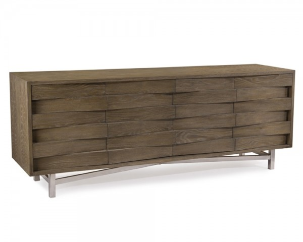 Luxe Wedge Sideboard, John Richard Sideboard