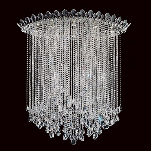 Schonbek  close to ceiling crystal light fixtures  Brooklyn,New York by Accentuations