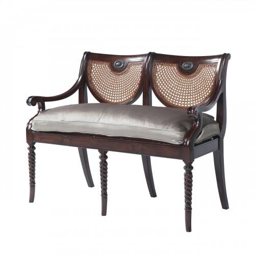 Regency Refinement Sofa, Theodore Alexander Sofa, Brooklyn, New York, Furniture by ABD