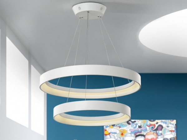 Schuller Cronos Double Pendant Lights  Brooklyn,New York by Accentuations Brand