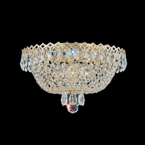 Schonbek close to ceiling crystal light fixtures Brooklyn,New York- Accentuations Brand