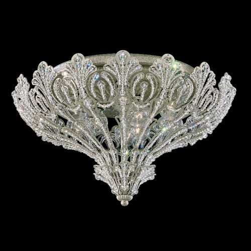 Schonbek close to ceiling crystal light fixtures, Accentuations Brand, Furniture by ABD