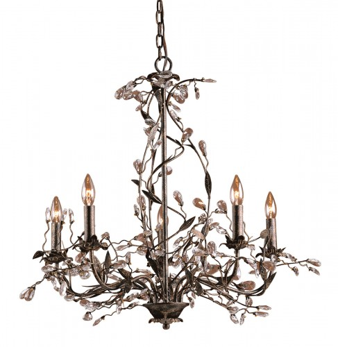ELK Lighting Classic Crystal Chandelier, Furniture by ABD, Accentuations Brand