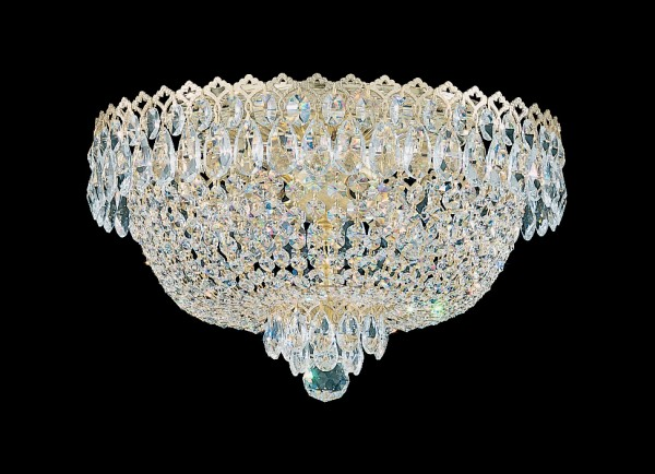 Schonbek  Close to Ceiling Crystal Light Fixtures Brooklyn,New York By Accentuations Brand