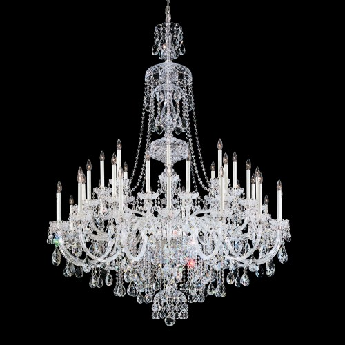 Schonbek Crystal Chandeliers Brooklyn, New York, Furniture by ABD