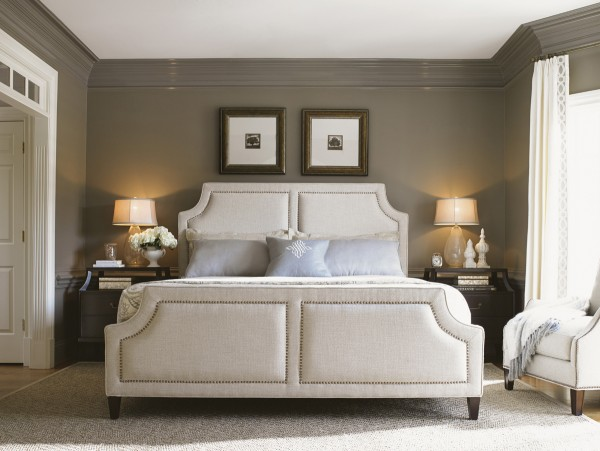 Kensington Place Chadwick Upholstered Bed, Lexington Modern Design Bedroom Furniture