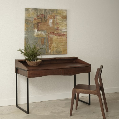 acacia wood writing desk