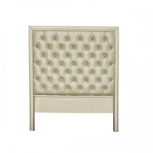 Modern and Traditional Tufted Upholstered Headboard with Nailheads Brooklyn – Furniture by ABD