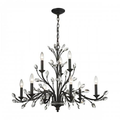 Classic Crystal Chandelier ELK Lighting,Brooklyn,New York Accentuations Brand, Furniture by ABD