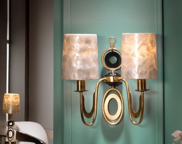 Schuller Eden Wall Lamp Candle Sconces for Walls Brooklyn,New York- Accentuations Brand