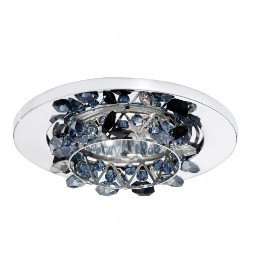 Modern flush mount crystal ceiling lights