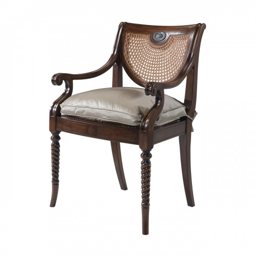 Theodore Alexander, Contemporary Armchairs For Sale, Brooklyn, Accentuations Brand, Furniture by ABD