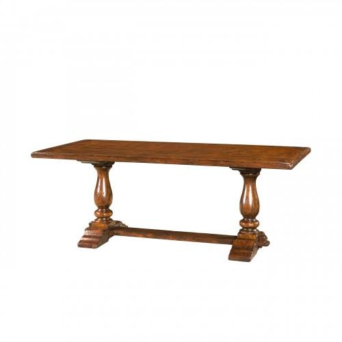 CB54002 A Rustic Companion Bistro Table Theodore Alexander