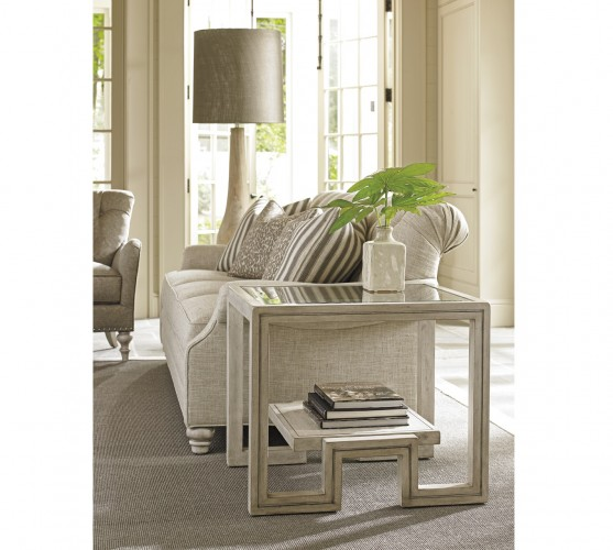 Oyster Bay Harper Lexington Glass End Tables for Sale Brooklyn, New York