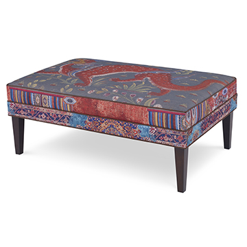 versatile ottoman is perfect as additional seating