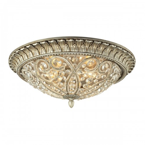 Andalusia 116944 crystal Elk Lighting flush mount light fixtures Brooklyn, New York - Accentuations Brand