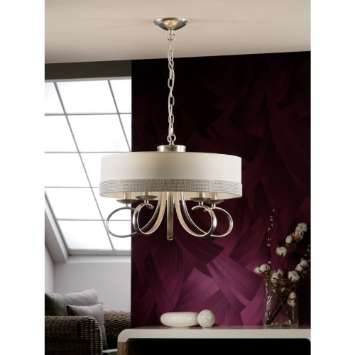 Schuller Adela Modern Crystal Pendant Chandelier Brooklyn, New York by Accentuations Brand