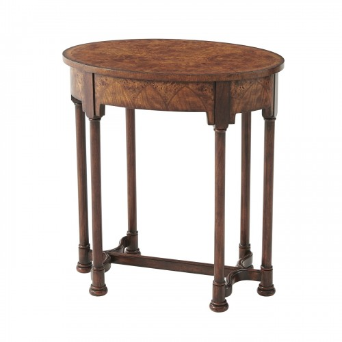 5005 264 Burl Pavillion Table theodore alexander