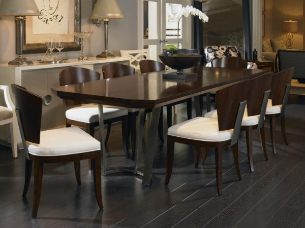 Century Furniture Guardian Dining Table Online with Metal Base Brooklyn, New York