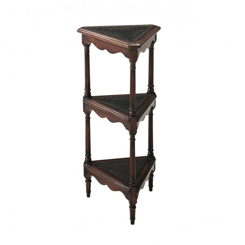 Magnificent Theodore Alexander Nook Etagere Mahogany Lamp Tables For Unemploymentrelief Wooden Chair Designs For Living Room Unemploymentrelieforg